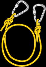 اتصال کارگاهها در دره نوردی کوه پلاس